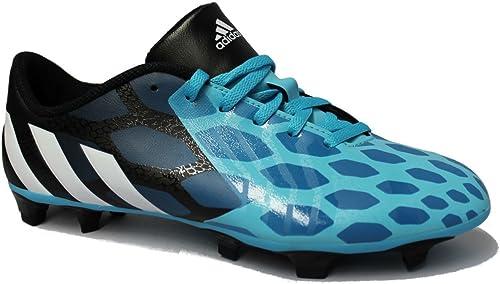 Chaussures football adidas X 18.3 FG Bleu Noir Junior Prix