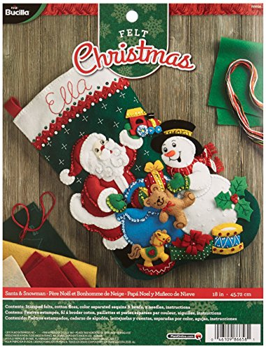Stocking Kit Snowman - 1