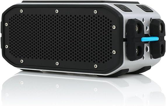 - Black // Cyan Waterproof NEW!! BRAVEN BRV-1 HD Wireless Bluetooth Speaker