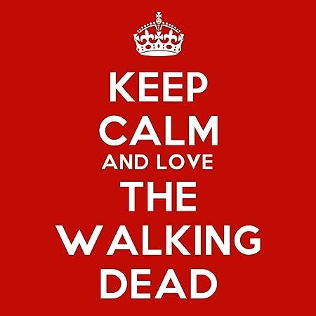 Keep Calm And Love The Walking Dead Coaster - 9cm Square  Amazon.co.uk   Kitchen   Home b70de3442e