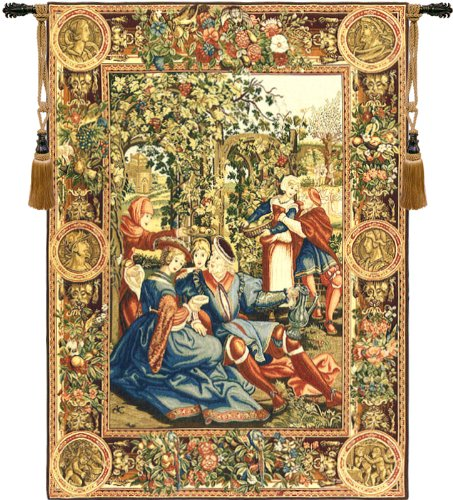 The Month of October European Wallhanging by Charlotte Home Furnishings Inc.