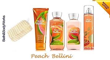 Amazon Com Bath Body Works Peach Bellini Gift Set Body Lotion