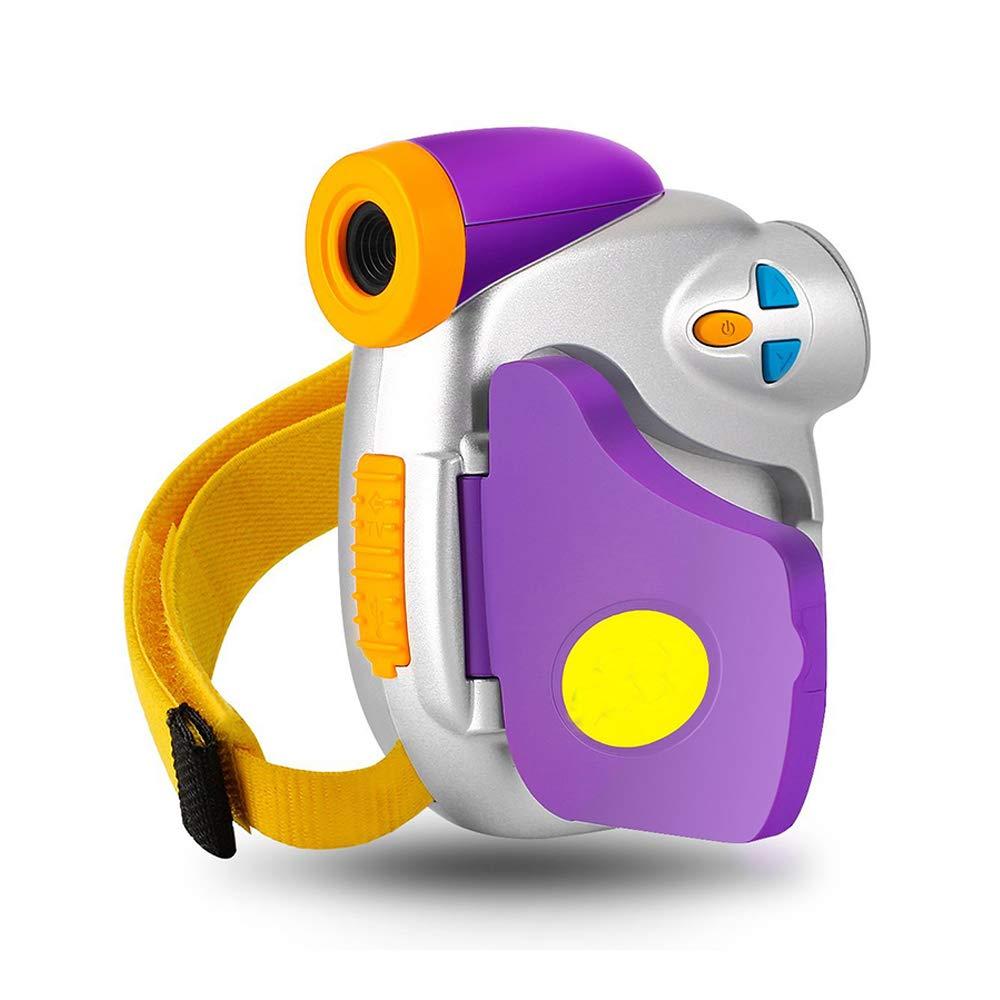 Eoncore 1080P Kids Digital Camera Video Cameras Recorder for Boys Girls with 8GB Memory Card (Purple) DV-PC