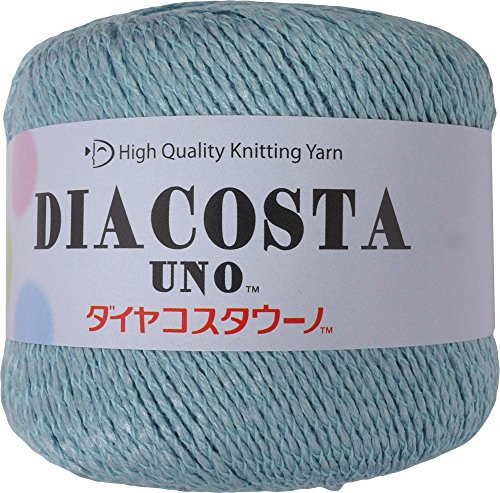 ダイヤモンド毛糸 ダイヤコスタウーノ 毛糸 合太 col.514 ブルー 系 35g 約115m 5玉セット