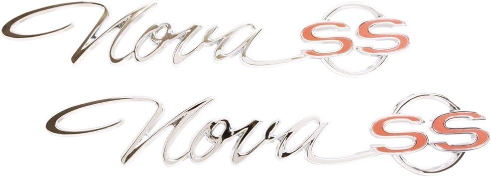 """1965 Nova /""""Nova SS/"""" Trim Parts 3031 Rear Quarter Emblem"""