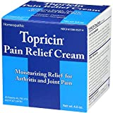 Topricin Pain Relief Cream 4 oz (Pack of 3)