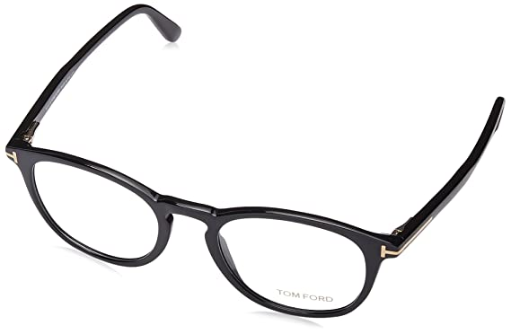 aa3d985bc5 Tom Ford FT5401-0001-51 Black Eyeglasses at Amazon Men s Clothing store