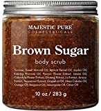 Brown Sugar Body Scrub for Cellulite and Exfoliation - Natural Body Scrub - Reduces The Appearances of Cellulite…