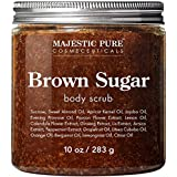 Brown Sugar Body Scrub for Cellulite and Exfoliation - Natural Body Scrub - Reduces The Appearances of Cellulite, Stretch Mar