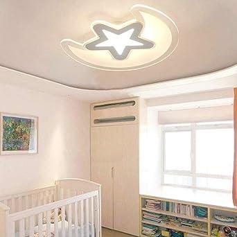 HomeLava 38W Lámpara de Techo LED Lámpara de techo infantil ...