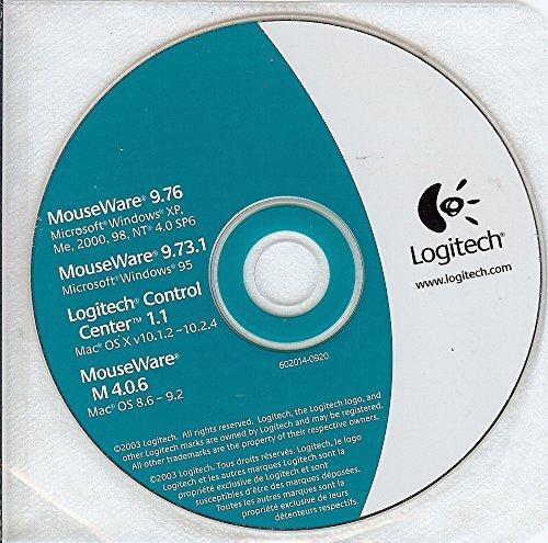 Price comparison product image Logitech Mouseware 9.76,  Mouseware 9.73.1,  Logitech Control Center 1.1 & Mouseware M 40.6