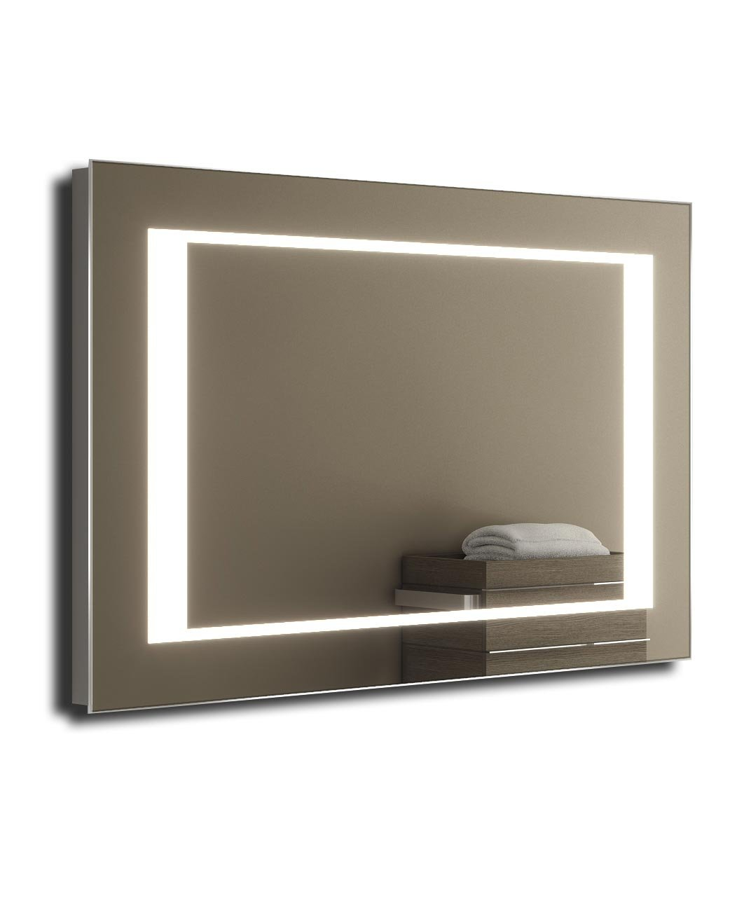 Kalki Shaver LED Bathroom Mirror With Demister Pad & Sensor k48i chic