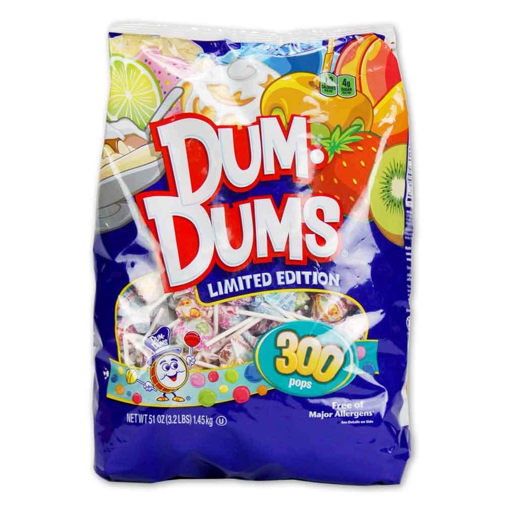 Spangler Dum Dums Lollipops Candy Limited Edition Flavors ...