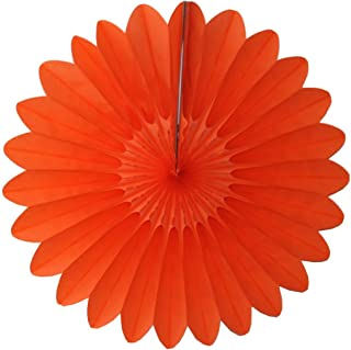 product image for 3-Pack 18 Inch Tissue Paper Fanburst (Orange)