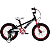 Royalbaby Bull Dozer Fat Tire kids bike, 16 inch or 18 inch, All-Terrain Boy's bike for energetic kids, BURLY kid's bike with training wheels and kickstand, 2017 newly-launched