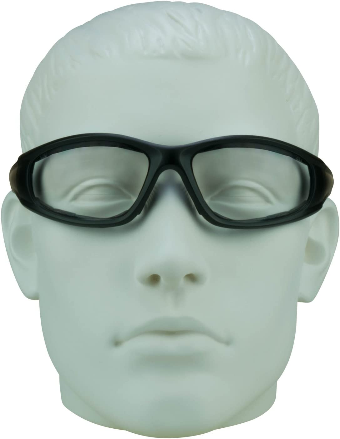 1.50 Foam Padded Z87.1 Motorcycle Riding Bifocal Safety Glasses