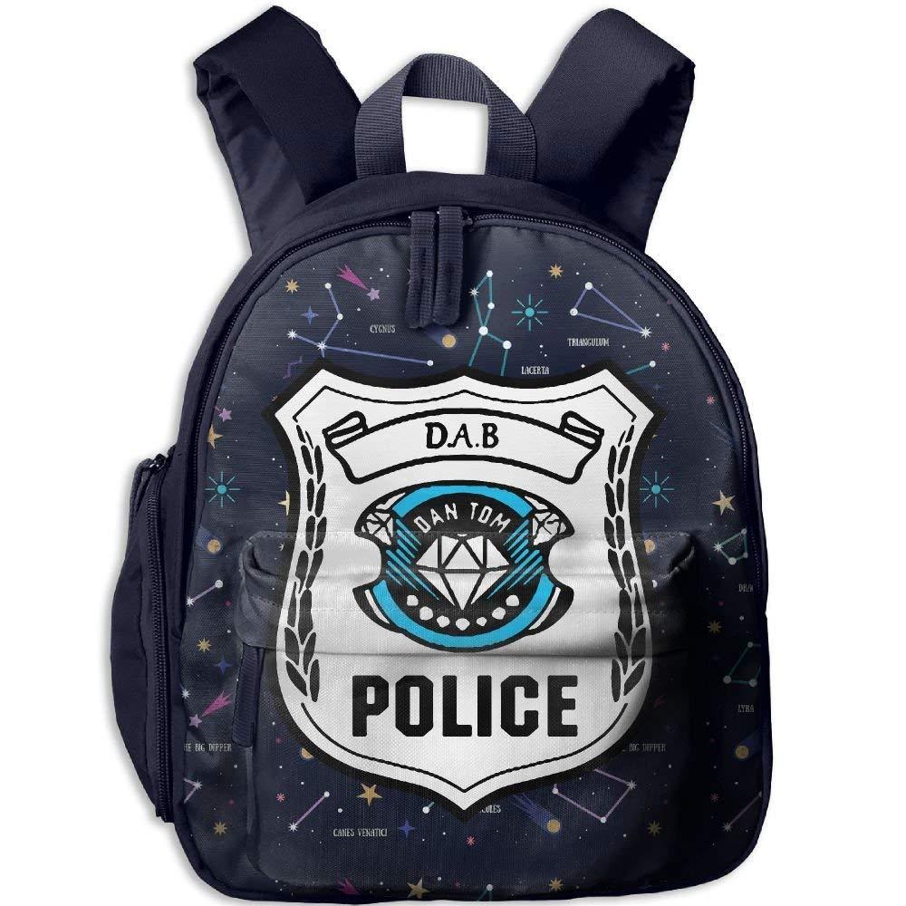 Dab Dan TDM Kids Stain-Resistant Double Zippers 3D Print Schoolbag,Cute Backpack Dan TDM 6One Size