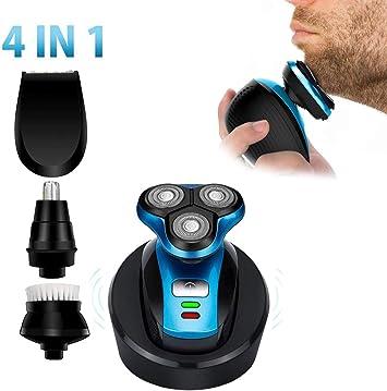 CYX-BEAUTY 4 Head 4D Electric Men Calvo Shaver Maquinilla de ...