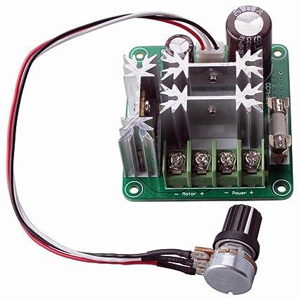 DC10/ 12/V motor velocidad controlador /60/V 20/A modulador de ancho de pulso PWM Motor Velocidad controlador resistente al agua carcasa