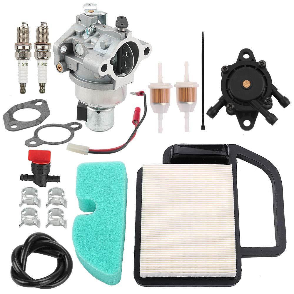 Savior 20 853 33-S Carburetor 20 083 06-S Air Filter 24 393 04-S Fuel Pump for Kohler SV470 SV471 SV480 SV530 SV540 SV541 SV590 SV591 SV600 SV601 SV610 SV620 Lawn Mower