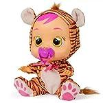 Boneca Cry Babies Nala Multikids Marrom / Rosa