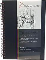 Caderno Sketchbook Hahnemühle Style Sketch A4 64 Folhas em Espiral Vermelho