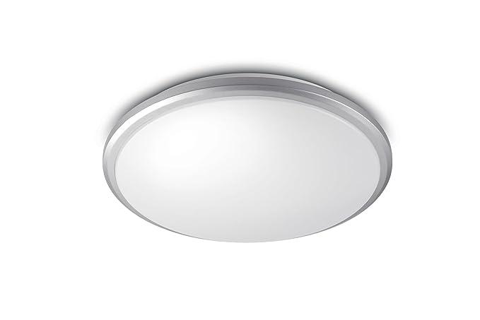 Plafoniera Led Suede Philips : Philips lampada da soffitto a led mybath room guppy p