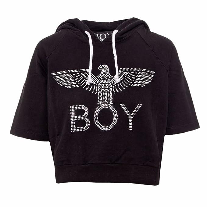 Boy London Sudadera - para mujer Negro Tamaño de la marcaM: Amazon.es: Ropa y accesorios