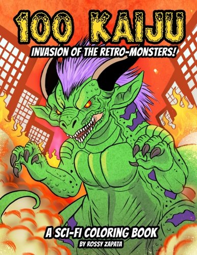 100 Kaiju - Invasion of the Retro-Monsters!: A Sci-fi for sale  Delivered anywhere in USA