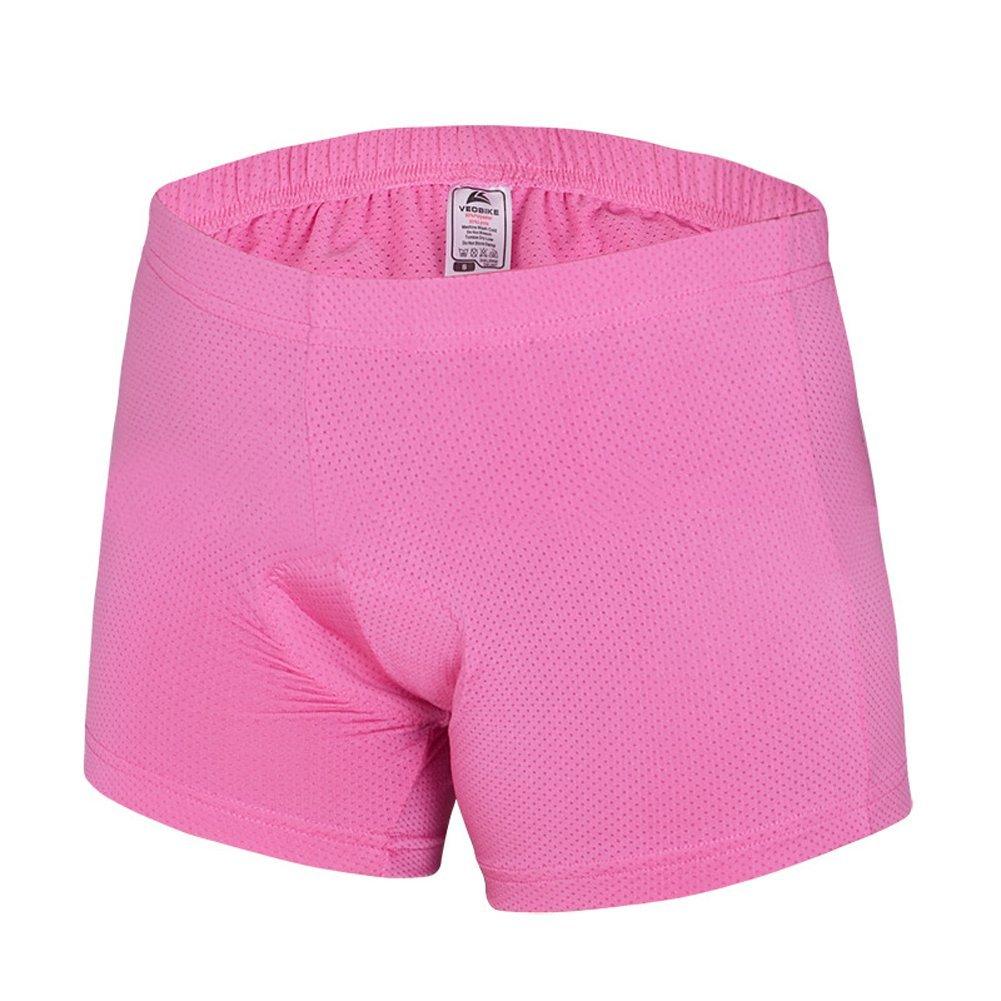 自転車乗馬ショーツ、ピンクパッド入りRiding ShortsのガールズレディースサイズS Small ピンク B010MBYN7M