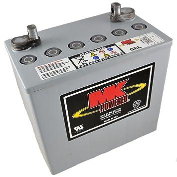 MK M22NF SLD G - Batería de gel para sillas de ruedas y motos (12 V, 50 Ah): Amazon.es: Salud y cuidado personal