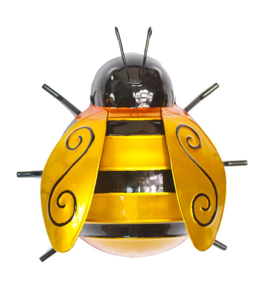 Amazon.com : Fountasia Wall Art Medium Bumble Bee : Garden & Outdoor