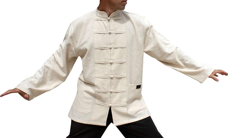 RaanPahMuang Branded Cotton Professional Chinese Mandarin Jacket Shirt