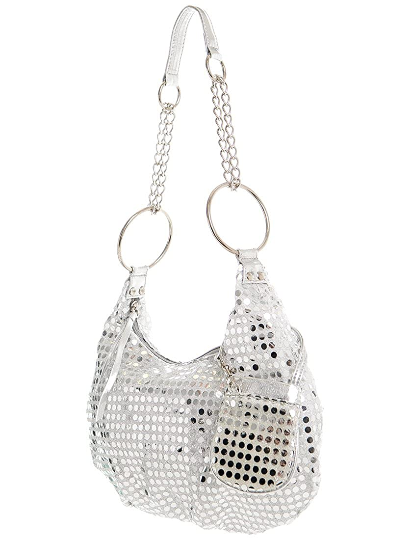 Shimmer and Sequin Hobo Bag by Handbags for All