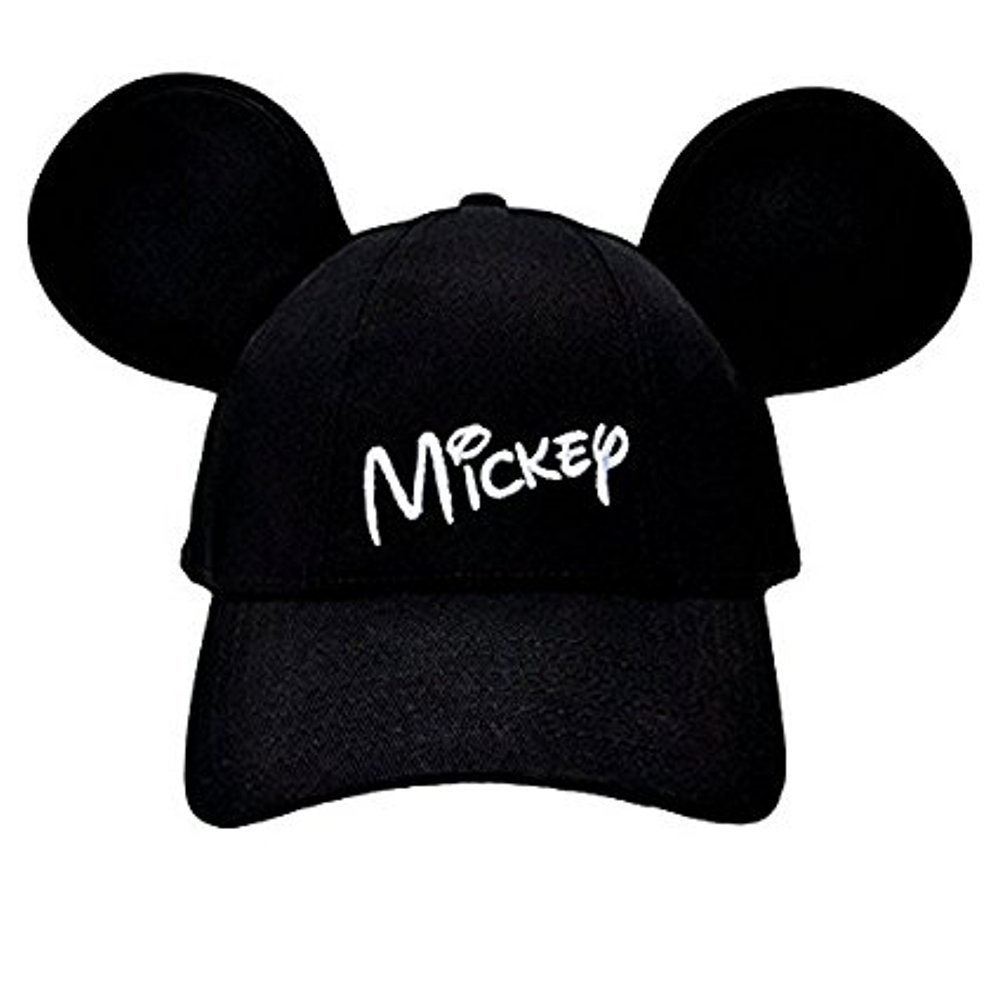c0a74db3aeb39 Amazon.com  Disney Mickey Mouse Mens  Character Baseball Hat  Clothing