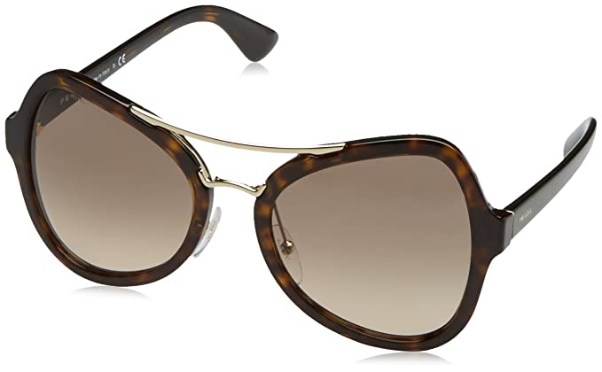 97b880a602 Amazon.com  Prada Women s PR 18SS Sunglasses 55mm  Clothing