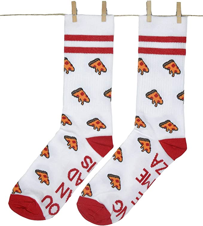 Roits Calcetines Pizzas Sport 36-40 - Calcetines Originales Mujer ...
