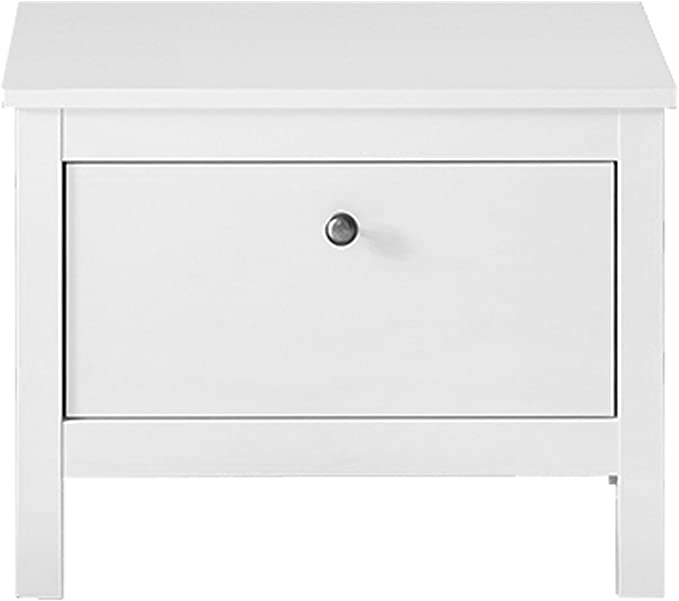 Trendteam Muebles Asiento, Madera, Blanco, 55 x 45 x 35 cm: Amazon ...