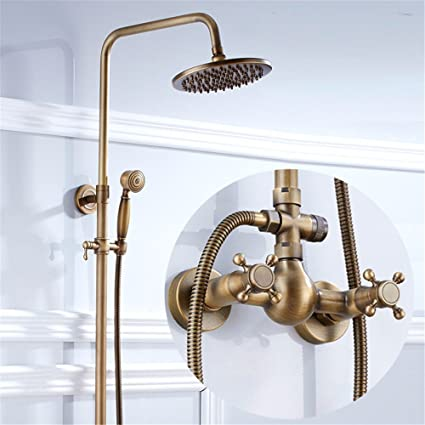 Antique Showers Shower Suite Bathroom Retro Hot Shower Bath Bathtub ...