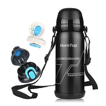 Thermosflasche Vakuum-Flasche Edelstahl Flasche Sport Wasser Flasche ...