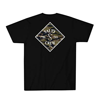 quality design f1d46 153bf Amazon.com  Salty Crew Tippet Cover up Boys Short Sleeve Tee  Clothing