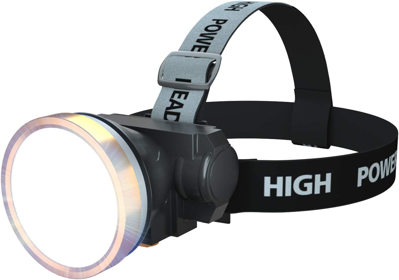 120 Lumens 3 Pack Super Bright Headlamps with 5 Modes Cycling,Car Repair Lightweight COB Head Lights for Kids Running Walking Camping Fishing NORYER Head Torch,