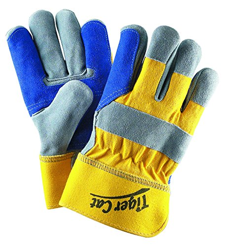 Cat Leather Palm Gloves - 9
