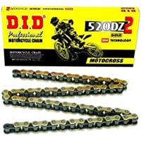 D.I.D Link High Performance Racing Chain with Connecting Link 80 Link 520DZ-80