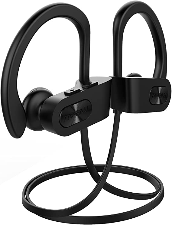 Mpow Flame Bluetooth Headphones Bluetooth Earbuds Ipx7 Waterproof Wireless Headphone Bass Hd Stereo 7 9hrs Playtime Cvc6 0 Noise Cancellation For Workout Running Gym Black Amazon Ca Cell Phones Accessories