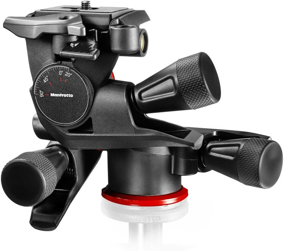 Manfrotto MT190XPRO4 4 Sec Aluminum Tripod with MH804-3W 3-Way Head and Two Quick Release Plates