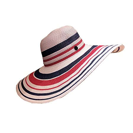 03af663b8ad31 Visor Hat LHA Sun Hat Female Summer Shade Korean Version Of The Wild Straw  Hat Summer Small Fresh Sunscreen Beach Hat Seaside Spell Color Along  ...