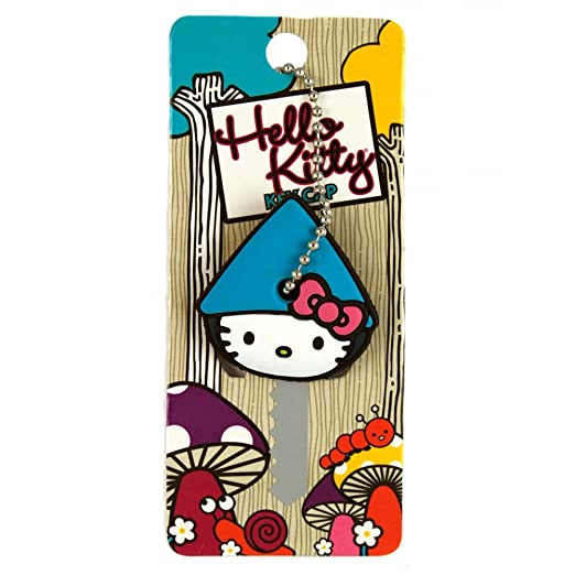 afdea29f6 Hello Kitty Pink Soft Rubber Key Cap Cover Cute Cartoon Keychain Key Holder  Collectibles Keychains