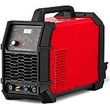 Aluminum Welder AC DC 200 Amp HF TIG/Stick Welder Digital with Pulse 200A Welding Machine Dual Voltage 220V/110V Foot Pedal c