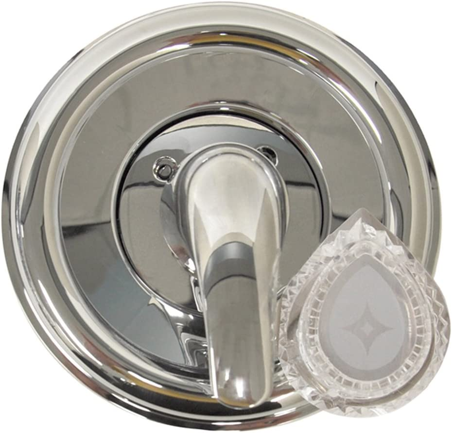 danco 10001 trim kit for use with moen tub and shower faucets plastic chrome plated single handle valve moentrol series